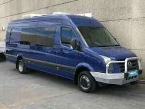 2008 Volkswagen Crafter 2EF1 50 LWB XL Blue 6 Speed Manual Van Revesby Bankstown Area Preview