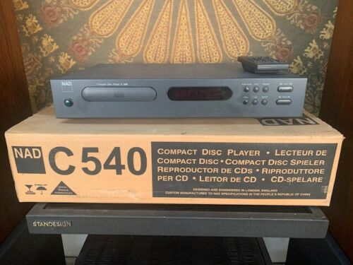 NAD C540 CD Player And Transport