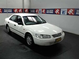 2000 Toyota Camry SXV20R CSi White 4 Speed Automatic Sedan Cardiff Lake Macquarie Area Preview