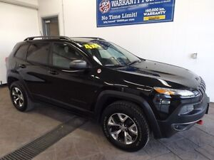 2016 Jeep Cherokee Trailhawk LEATHER
