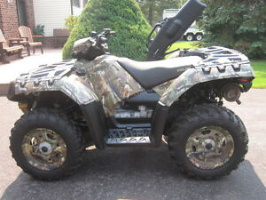 2013 Polaris Sportsman Browning 850 XP EPS Kawartha Lakes Peterborough Area image 3