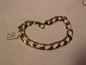 "#3177-14K BRACELET-LOBSTER CLAW CLOSURE-REVERSIBLE 8"" LONG-18.49 gms Sell $795.00.LAYAWAY-EMAIL BANK TRANSFER-FREE"