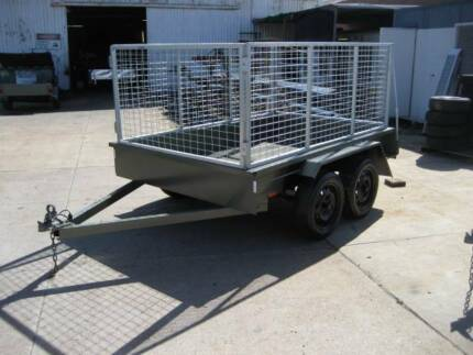 8 x 5 tandem caged trailer - New and licensed Welshpool Canning Area Preview