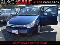 2009 Ford Focus SE, $27/Week OR $118/Month, ZERO DOWN!