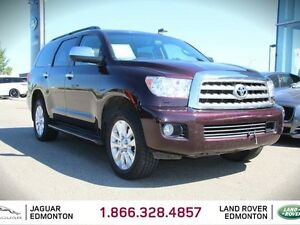 2014 Toyota Sequoia Platinum - Local One Owner Trade In | No Acc
