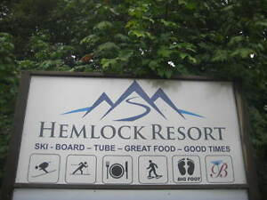Take advantage of the No 15 % tax Duplex lot at Hemlock resort