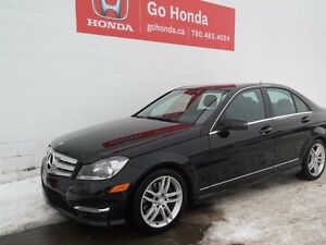 2013 Mercedes-Benz C-Class C300, V6, AWD, LEATHER