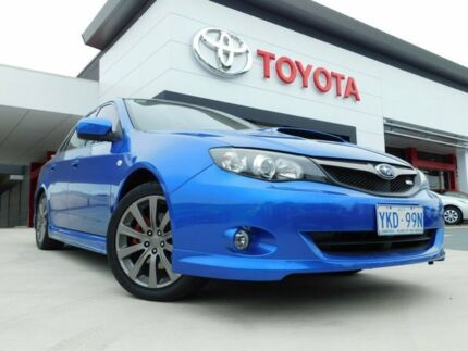 2010 Subaru Impreza MY10 WRX (AWD) Blue 5 Speed Manual Sedan Greenway Tuggeranong Preview