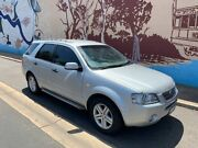 2006 Ford Territory SY Ghia Silver 4 Speed Sports Automatic Wagon Thebarton West Torrens Area Preview