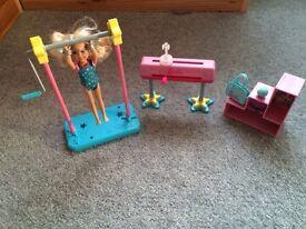 Barbie gymnast