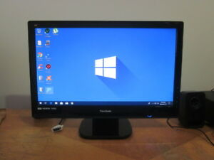 24 inch Viewsonic LED monitor