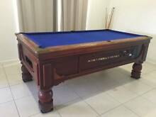 Pool Table - Slate 8x4 , (2400mmx 1250mm) coin operated Pub Table Mitchelton Brisbane North West Preview