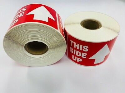 1 Roll Of 300 2x3 This Side Up Arrow Fragile Office Supplies Shipping Labels