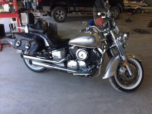 2006 Yamaha XVS11 V-Star 1100 Midnight Gray