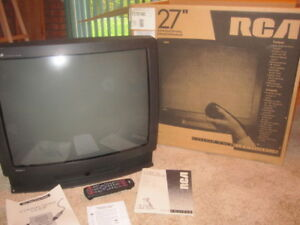 "Color TV 27"" by RCA"
