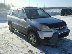 parting out 2002 honda crv