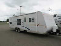 2006 jay feather 29 ft travel trailer.