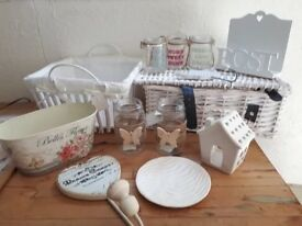 Shabby chic home assessories