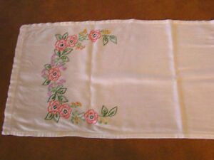 Hand Embroidered Table Cloth Etc