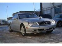 2001 Mercedes CL500,only43kms,1owner BC car,MINT!
