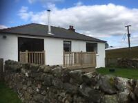 THREE BEDROOM RURAL COTTAGE, GLESPIN, DOUGLAS