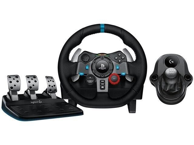 14fb098e5c9 Logitech G29 drive force steering wheel with logitech H shifter | in ...