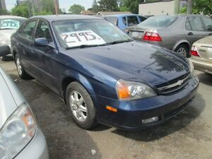 2004 Chevrolet Epica LS - ONLY 112618 Klm's!