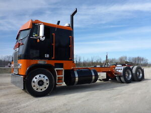 1987 Freightliner FLT-64T COE T/A Hiway Tractor - Sleeper