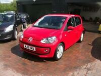 2013 Volkswagen up 1.0 BlueMotion Tech High Up SALVAGE DAMAGED REPAIRABLE DRIVES