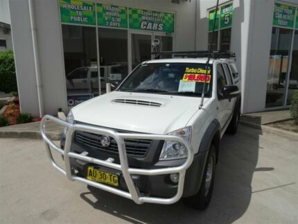 2008 Holden Rodeo RA MY08 LX (4x4) White 4 Speed Automatic Crewcab Claremont Meadows Penrith Area Preview