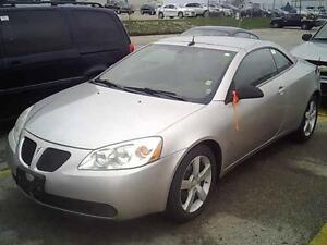 2008 PONTIAC G6 GT CONVERTIBLE LEATHER FULLY LOADED