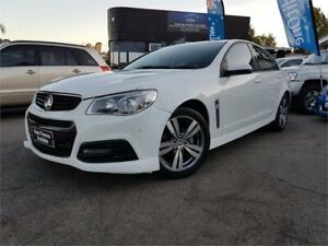 2013 Holden Commodore VF SV6 White 6 Speed Automatic Sedan Mount Hawthorn Vincent Area Preview