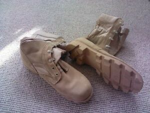 Desert Tan Tactical Safety Boots -  New and Used Belleville Belleville Area image 2