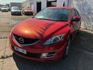 2008 Mazda 6 GH Classic Red 5 Speed Auto Activematic Hatchback