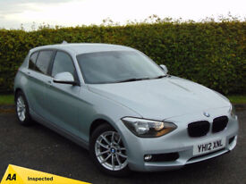 BMW 1 SERIES 2.0 120D SE 5d (silver) 2012