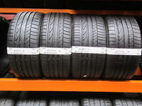 R63 SET 4 TYRES 2X 245/40/18 97Y 2X 265/35/18 BRIDGESTONE POTENZA RE050A MO 2X7,5MM 1X8MM 1X7MM