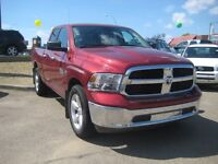 2014 DODGE RAM 1500 SLT, DOUBLE CAB, 4X4, LOW KMS