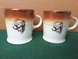 HYCROFT CHINA ~ Hereford Steer Mug ~ 22K Gold ~ Medicine Hat