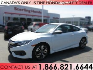2017 Honda Civic Coupe EX-T | HONDA CERTIFIED | NO ACCIDENTS