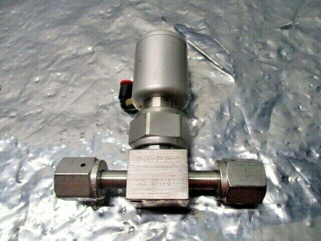 SWAGELOK Nupro SS-BNV51-C Bellows Sealed Valve, gas line shutoff valve, 102072