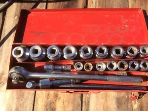 3/4 Drive ShopMaster Socket Set