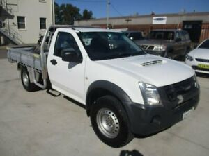 2010 Isuzu D-MAX MY10 EX White 5 Speed Manual Cab Chassis Hamilton North Newcastle Area Preview