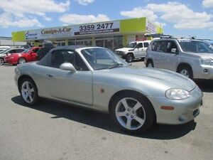 2003 Mazda MX-5 NB30P3 Classic Silver 6 Speed Manual Softtop Kedron Brisbane North East Preview