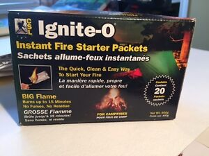 Ignite-o Instant Fire StarterPack of 20