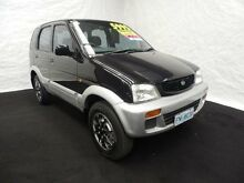 1999 Daihatsu Terios DX (4x4) Black 4 Speed Automatic 4x4 Wagon Derwent Park Glenorchy Area Preview