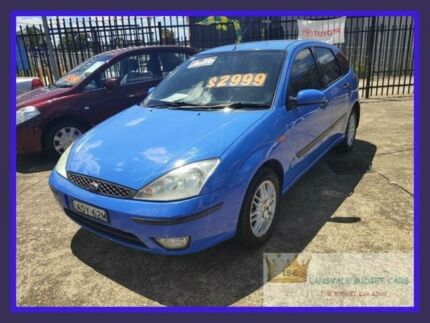 2003 Ford Focus LR CL Blue 4 Speed Automatic Hatchback Lansvale Liverpool Area Preview