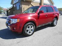 2010 FORD Escape Limited 4WD 3.0L V6 Leather Sunroof 156,000KMs