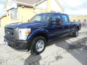 2012 FORD F-250 XL Super Duty Crew Cab 8Ft Box ONLY 77,000KMs