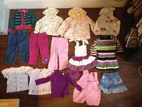Girls Bundle 18-24 months (15 items) (M&S, John Lewis, M&Co, NEXT, Autograph etc) hoody, dress, coat