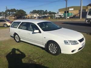 2006 Ford Falcon BF Mk III XT White Automatic Wagon Wangara Wanneroo Area Preview